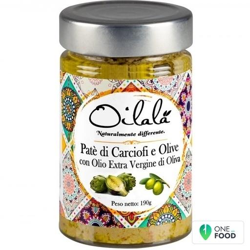 Artischocken Oliven Pate Mit Nativem Olivenol Extra 1 X 190 G
